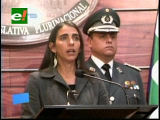 Peleas por los Estatutos: Senadora Montaño repudia los hechos de violencia en Portachuelo