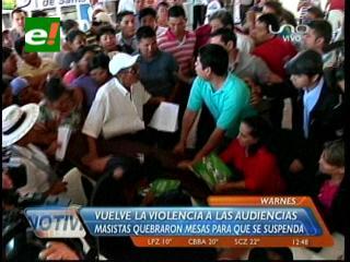 Warnes: Masistas por la fuerza impiden adecuación del Estatuto Autonómico