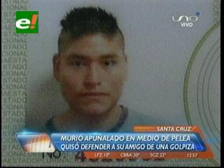 Santa Cruz: Pandilleros matan a joven en la puerta de su domicilio