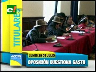 Titulares: Oposición cuestiona el gasto de recursos para la Cumbre Anti-imperialista