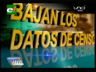 Santa Cruz: Gobernación y cívicos en alerta por los datos del censo