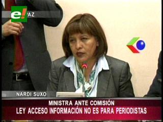 """Gobierno dispuesto a """"ajustar y mejorar"""" proyecto de Ley de Acceso a la Información"""