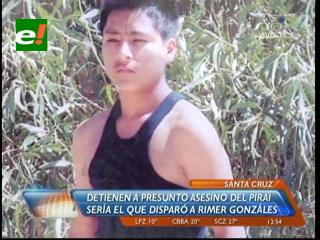 Detienen a un sospechoso en el caso del adolescente asesinado en el rio Piraí