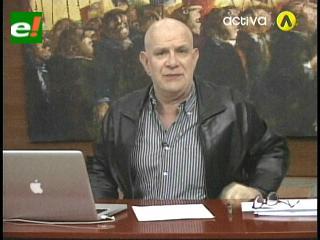 Carlos Valverde critica las acusaciones de Juan Ramón Quintana hacia Página Siete
