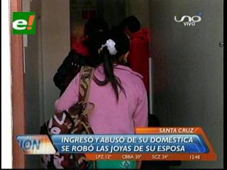 Delincuente roba joyas de un domicilio y abusa sexualmente de la doméstica