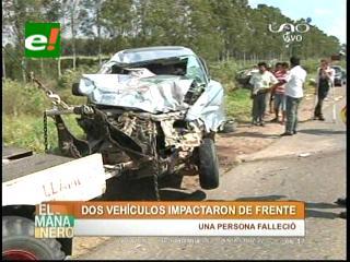 Santa Cruz: Tragedias viales se cobran cuatro vidas