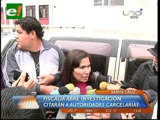 Por la tragedia: Llamarán a declarar al gobernador de Palmasola
