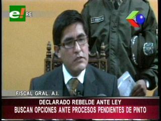Ministerio Público analiza pedir extradición de Roger Pinto