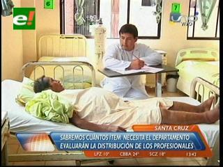 Médicos realizarán un censo de salud en Santa Cruz