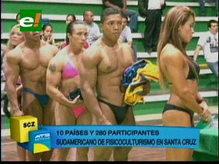 Sudamericano de Fisicoculturismo y Fitness 2013 con toque cruceño