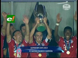 Supercopa de Europa: en una dramática definición Bayern se coronó campeón ante Chelsea