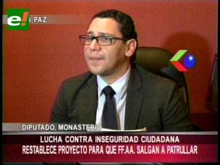 Oposición insiste con pedido de incluir a las FFAA en seguridad ciudadana