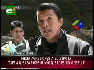 Ex edecán de César Cocarico es enviado a penal de Patacamaya por violencia familiar