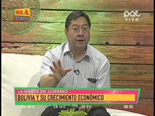 Ministro Arce sostiene que el aumento salarial será mayor a la inflación