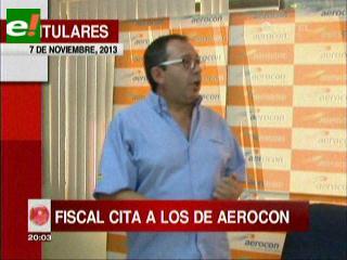 Titulares: Comisión de fiscales que investiga la tragedia aérea citó a declarar a los ejecutivos de Aerocon