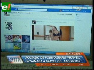 Universitario es acusado de pornografía infantil, engañaba a adolescentes a través del Facebook