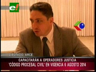 Diputado Arce: «Por primera vez se hizo lectura de necesidades judiciales para elaborar nuevo Código Civil»