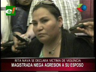 Magistradas apoyan a Rita Nava denunciada por violencia intrafamiliar
