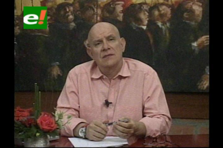 """Valverde: """"Evo decidió comenzar su campaña con plata ajena"""""""