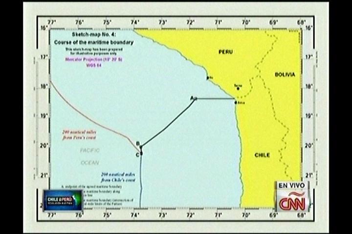 Favorable a Perú: Corte de La Haya define una línea equidistante a partir de las 80 millas entre Perú y Chile