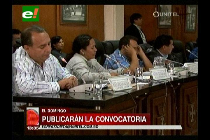 Santa Cruz: ALD aprobó la convocatoria a ternas para la elección de vocales electorales