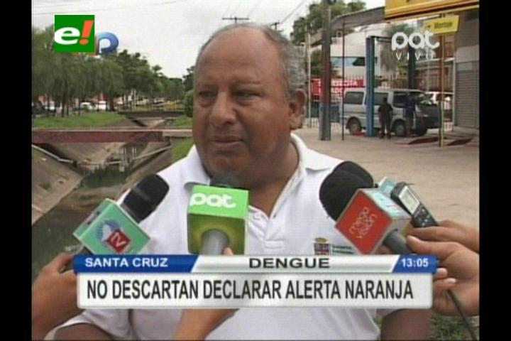 Analizan declarar alerta naranja por aumento de casos de dengueen Santa Cruz