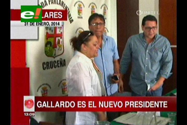 Titulares: El diputado Andrés Gallardo es el nuevo Presidente de la Brigada Parlamentaria Cruceña