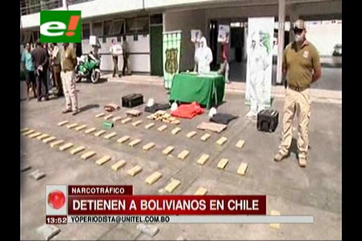 Chile: Detienen a banda internacional que intentó llevar droga a Viña del Mar, hay dos bolivianos detenidos