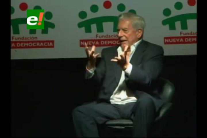 Video de las ideas de Mario Vargas Llosa en la Fexpo