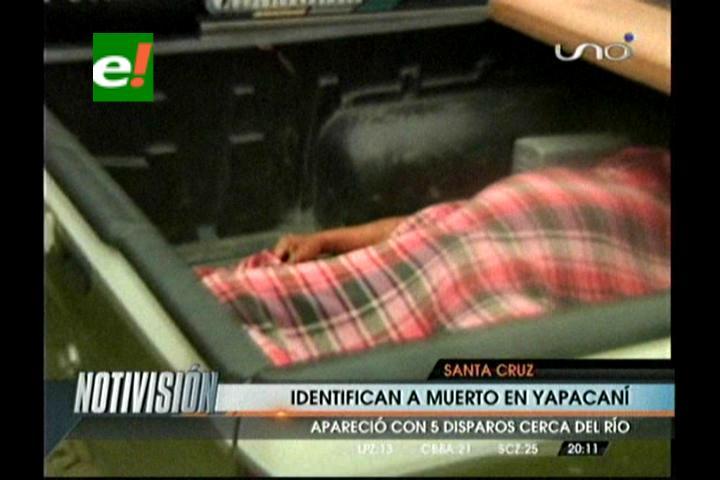 Identifican a sujeto asesinado en Yapacaní
