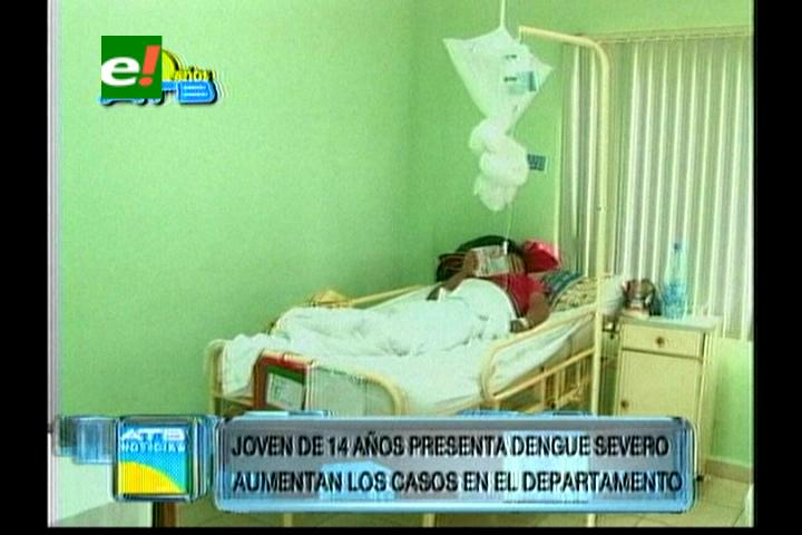 Paciente con dengue está en terapia intensiva