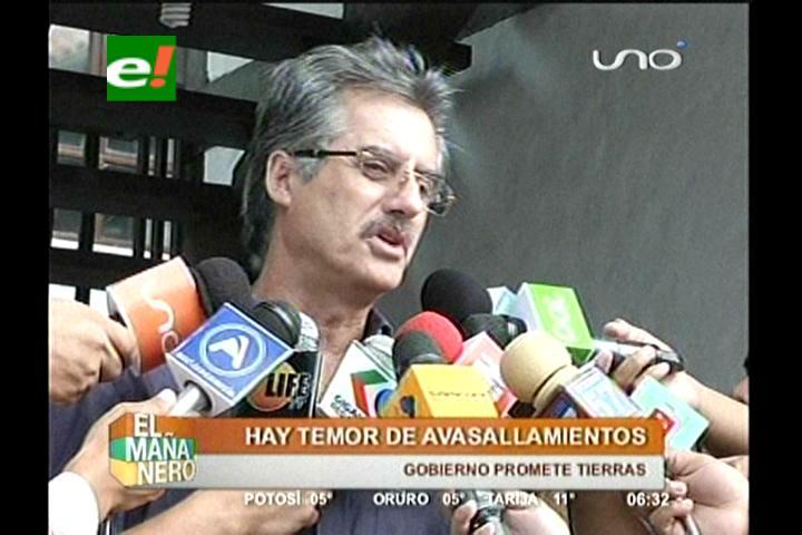 CAO teme avasallamientos de tierras tras el anuncio del Presidente Morales