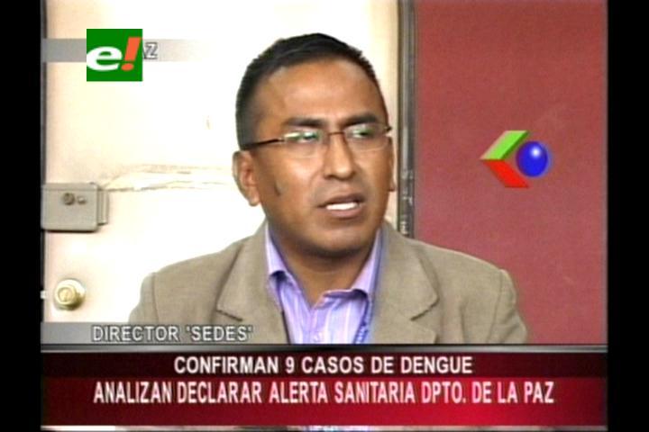 Sedes confirma 9 casos de dengue en el norte de La Paz