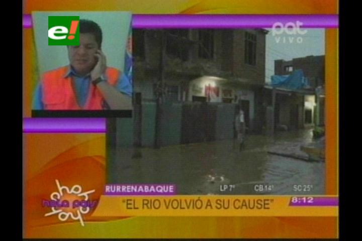 Ministro de Defensa descarta declarar zona de desastre en Beni