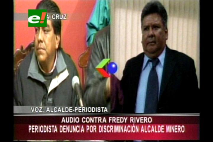 Periodista denuncia por racismo y discriminación al Alcalde de Minero