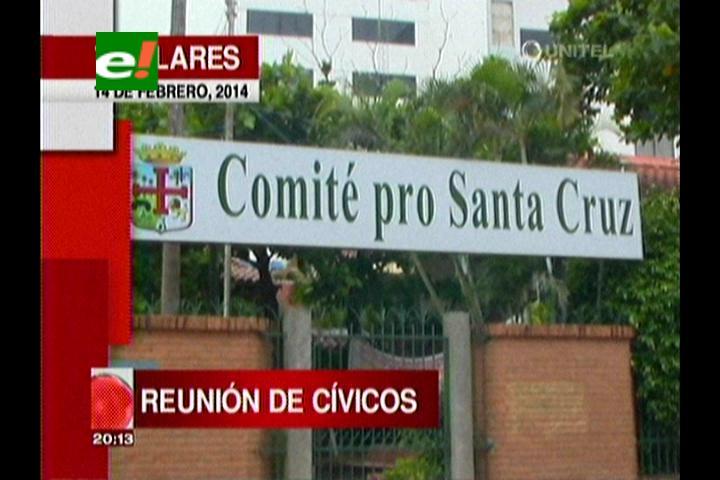 Titulares: Cívicos de todo el país se reunirán en Cochabamba, analizarán el Pacto Fiscal