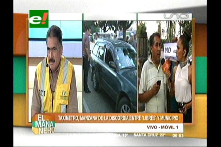 Taxistas no trabajarán hoy en protesta contra el taxímetro