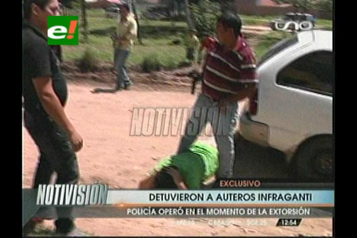 Santa Cruz: Diprove detiene a supuestos auteros