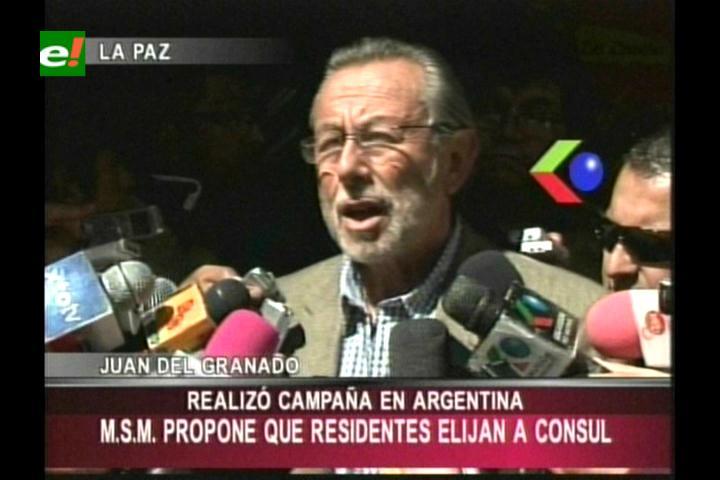 MSM hizo campaña política en Argentina