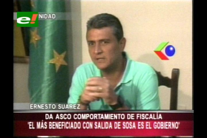 """Ernesto Suarez: """"El más beneficiado con la salida de Soza es el Gobierno"""""""