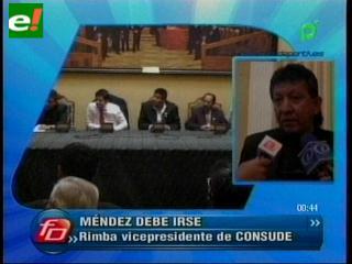 Rimba: «Patato» Méndez debe irse de la Liga