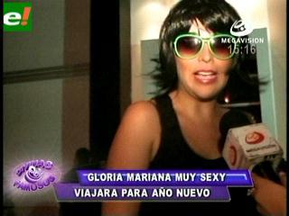 Gloria Mariana Limpias con look diferente
