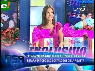 Tatiana Valdés elegida Look Cyzone 2011