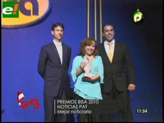 PAT arrasó con premios Bisa al Periodismo