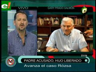 Gary Prado reaparece y habla sobre el caso Rózsa