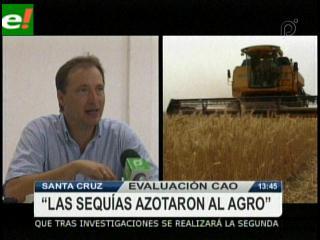 La sequía frenó la producción en Santa Cruz