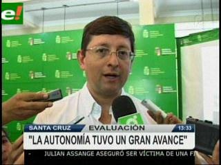 "Oscar Ortiz: ""Existe un gran avance de la autonomía"""