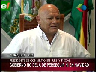 Luis Núñez:»Este Gobierno es juez, fiscal y carcelero»