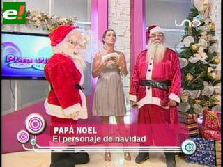 La magia de Papá Noel en navidad