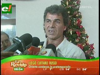 Llegó Ariel Cuffaro a Oriente Petrolero
